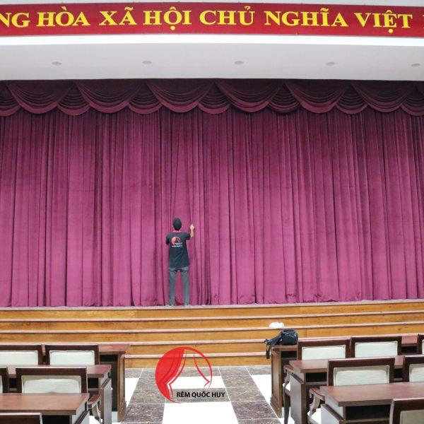 mẫu rèm sân khấu - rèm hội trường