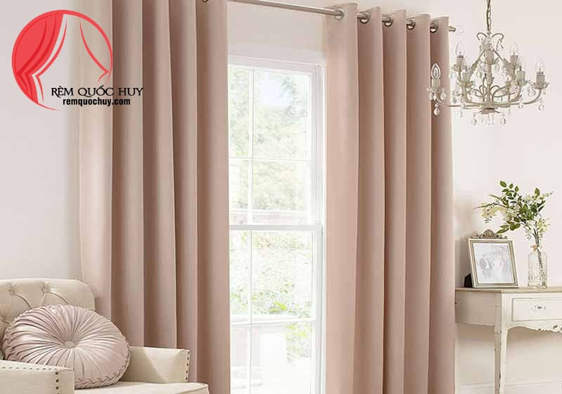 Rèm vải cao cấp phòng ngủ giúp bạn ngon giấc hơn