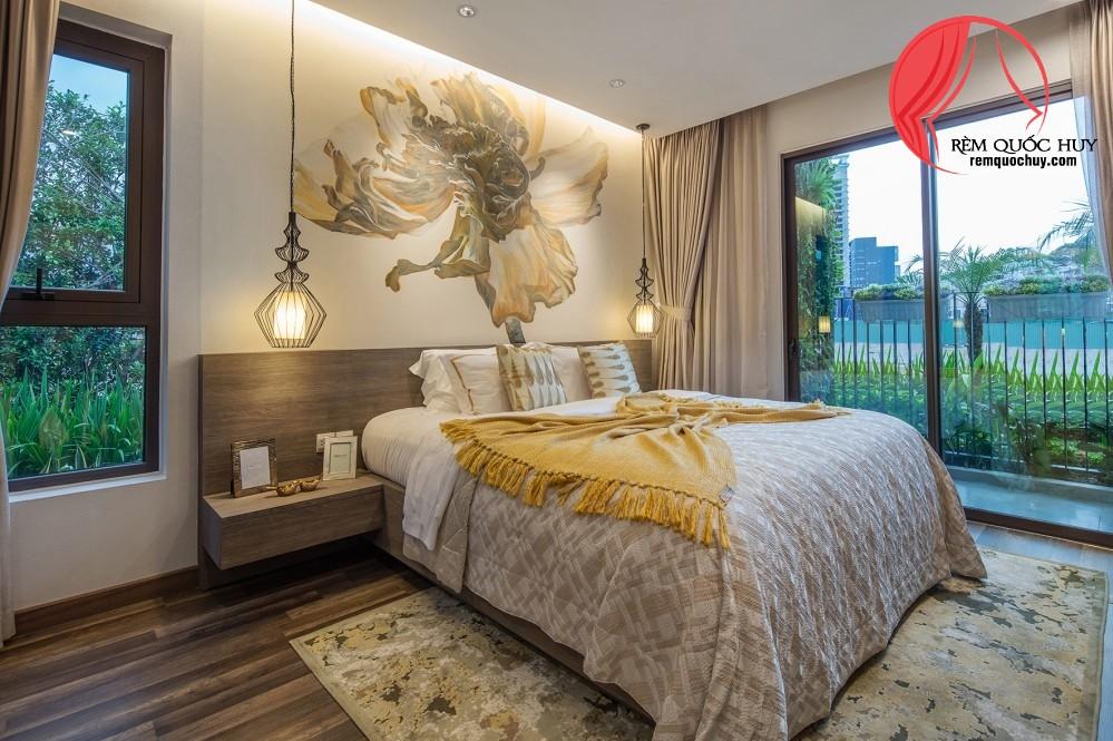 Rèm cửa căn hộ Hà Đô