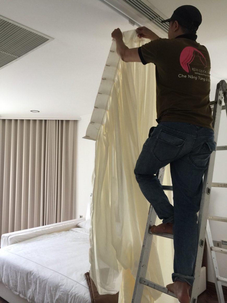 Dịch vụ giặt màn cửa tại TP HCM Rèm Quốc Huy