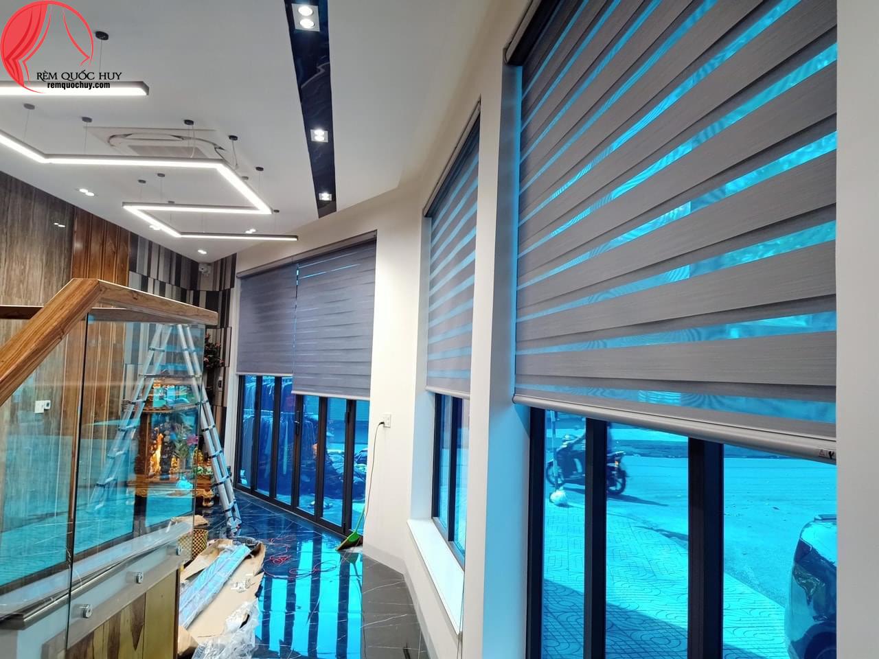 Rèm cầu vồng. Các mẫu rèm cửa sổ đẹp 2021, 2020